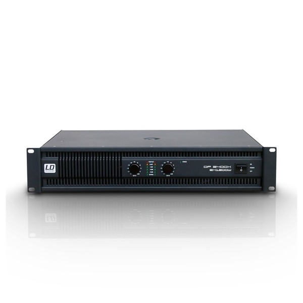 LD Systems Deep2 2400X Power Amplifier Front