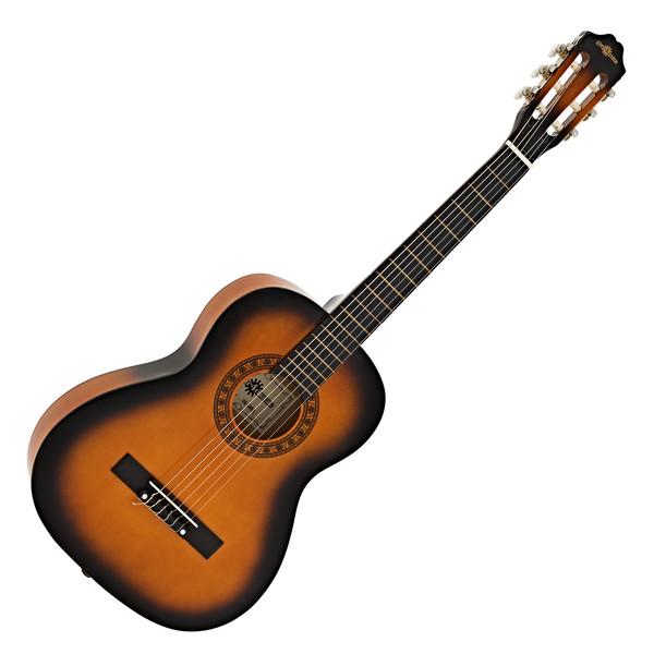 3/4 Classical Guitar, Sunburst, by Gear4music