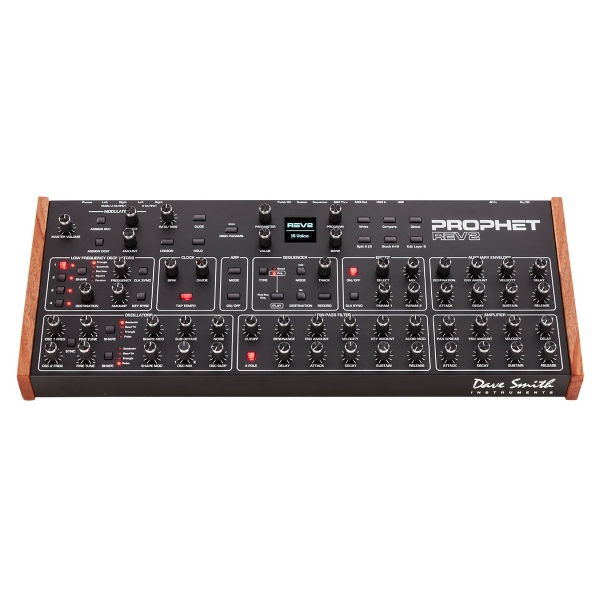 dave smith prophet rev2 8 voice module b stock at gear4music. Black Bedroom Furniture Sets. Home Design Ideas