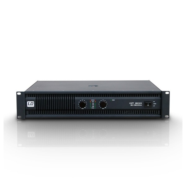 LD Systems Deep2 600 2 x 300 Watt Power Amplifier