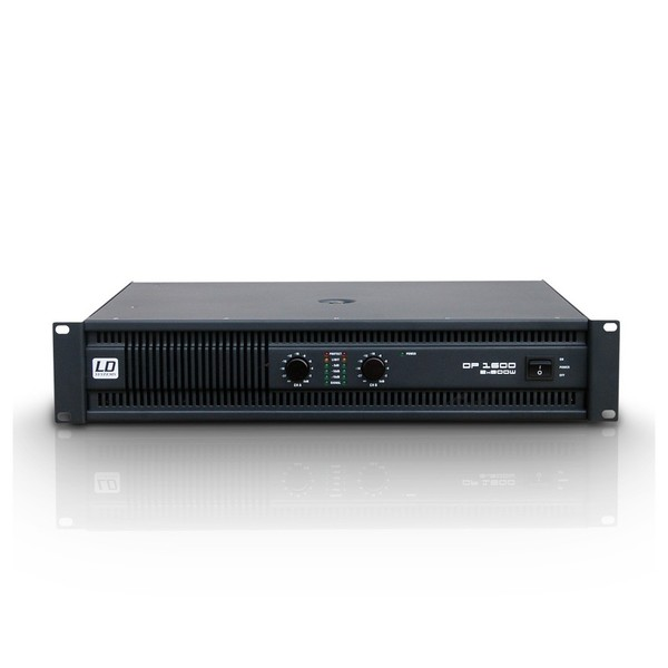LD Systems Deep2 1600 2 x 800 Watt Power Amplifier