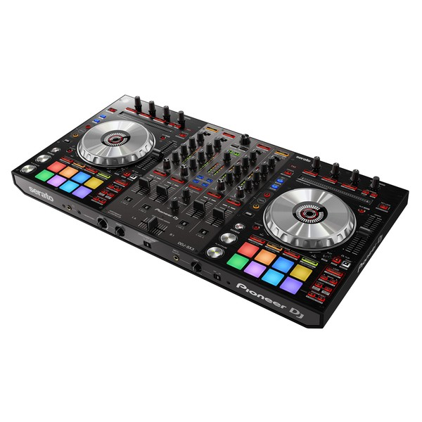 Pioneer DDJ-SX3 DJ Controller - Angle