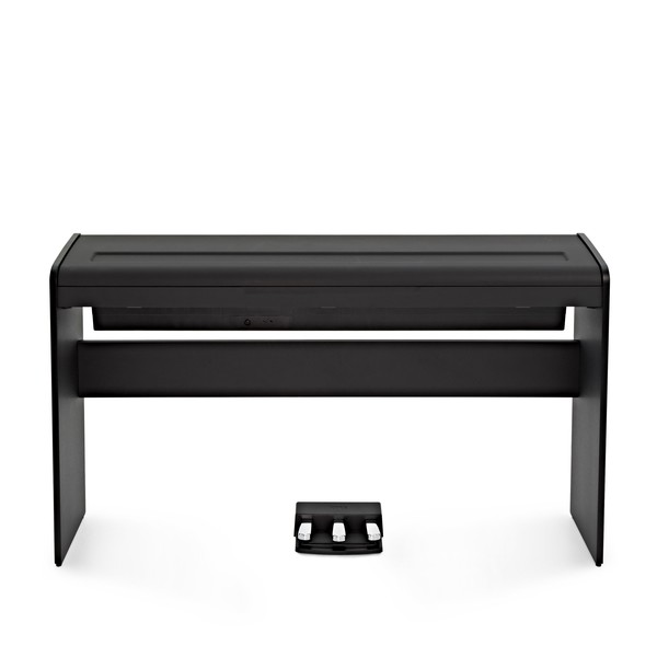 Korg LP-180 Digital Piano, Black with Stool + Headphones