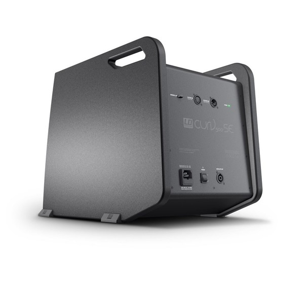 LD Systems CURV 500 Extension Subwoofer Back Panel