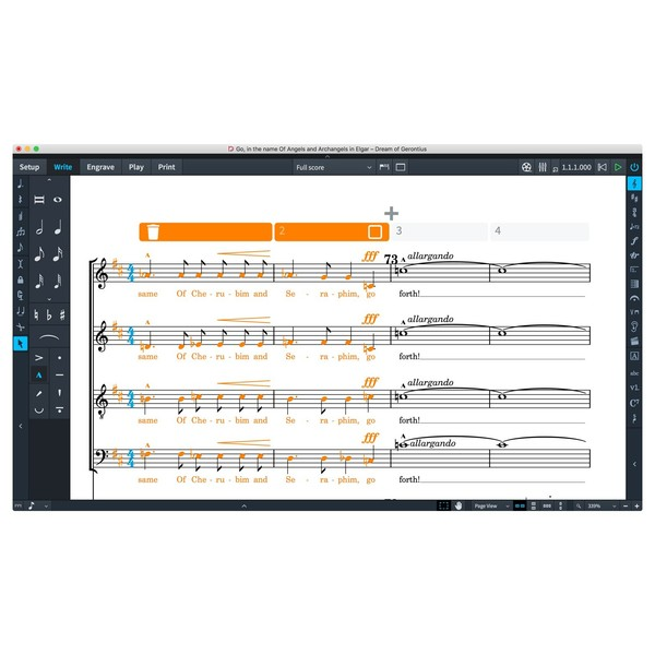Steinberg Dorico Elements 2 - System Track