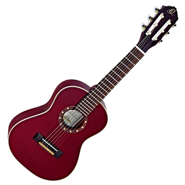Ortega R121-1/4WR Nylon, Wine Red Front View