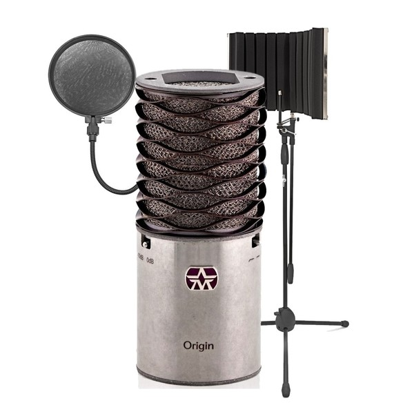 Aston Microphones Origin Cardioid Condenser Mic With Filter And Stand - Bundle