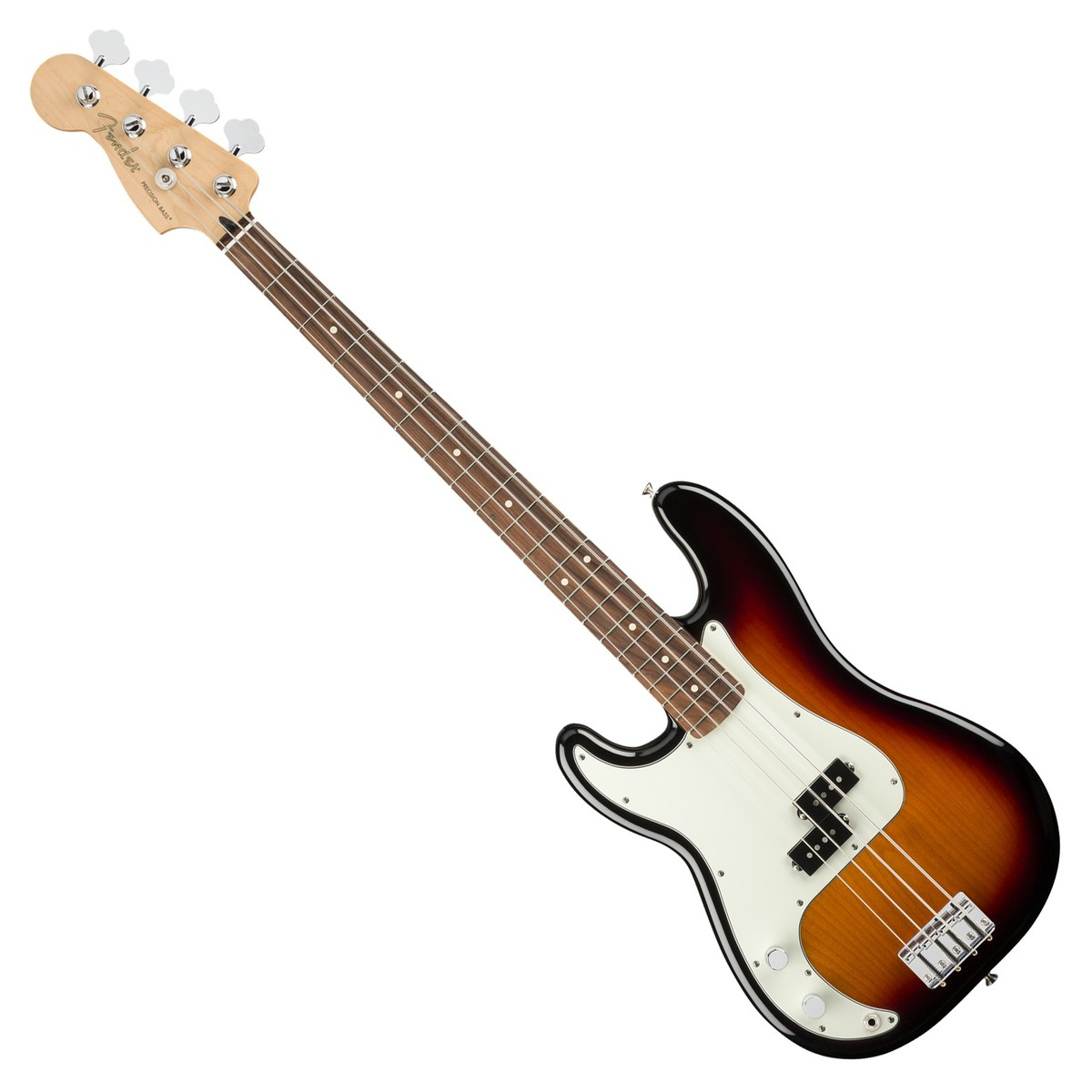 fender player precision bass pf left handed 3 tone sunburst at gear4music. Black Bedroom Furniture Sets. Home Design Ideas
