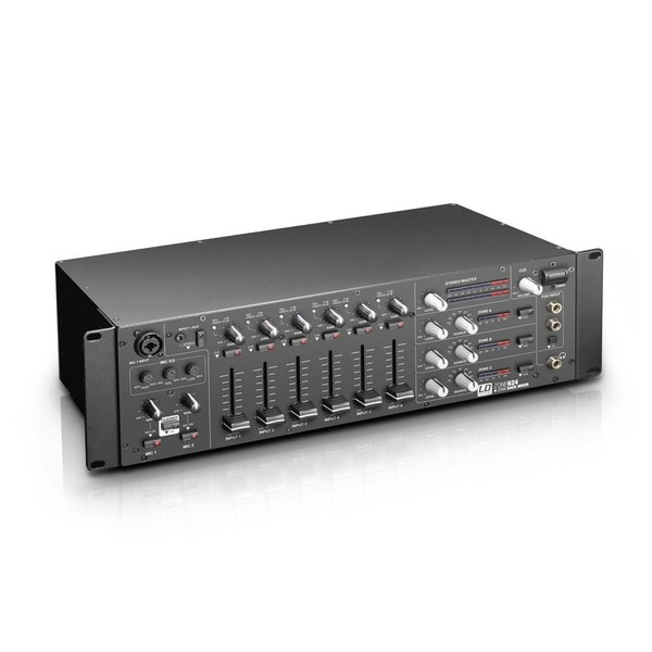 LD Systems ZONE624 4 Zone Rack Mixer