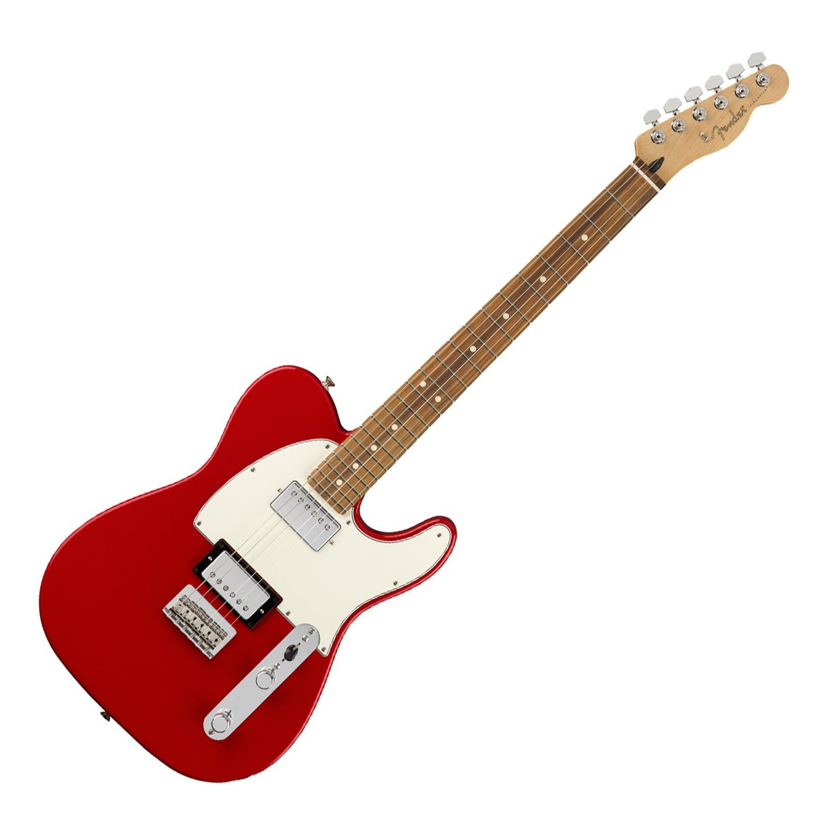 Fender Telecaster Hh >> Fender Player Telecaster Hh Pf Sonic Red