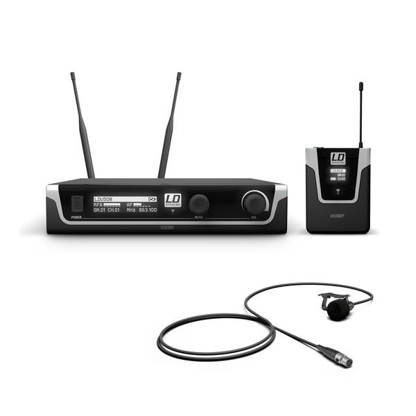 LD Systems BPL Single Lavalier Mic Wireless System