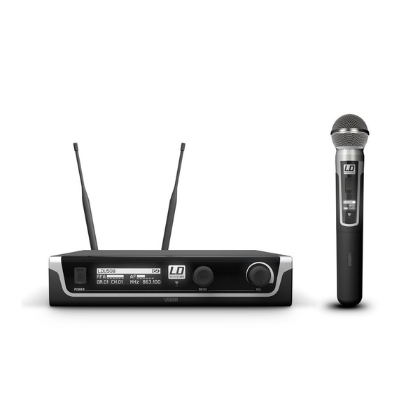 LD Systems HHD Single Handheld Dynamic Mic Wireless System
