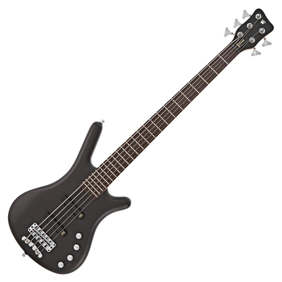 warwick rockbass corvette basic 5 string bass black at gear4music. Black Bedroom Furniture Sets. Home Design Ideas