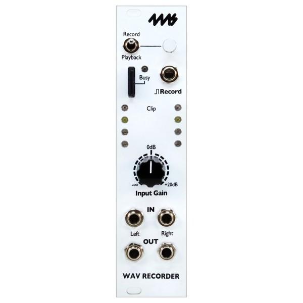 4ms WAV Recorder - Main