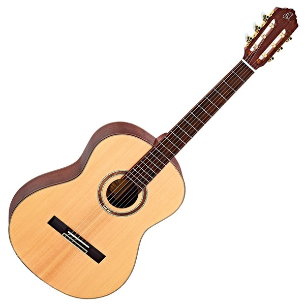 Ortega R158SN Nylon, Solid Spruce Top Front View