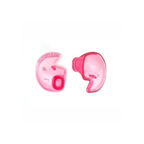Doc's Pro Plugs Non-Vented Without Leash X-Large, Pink main
