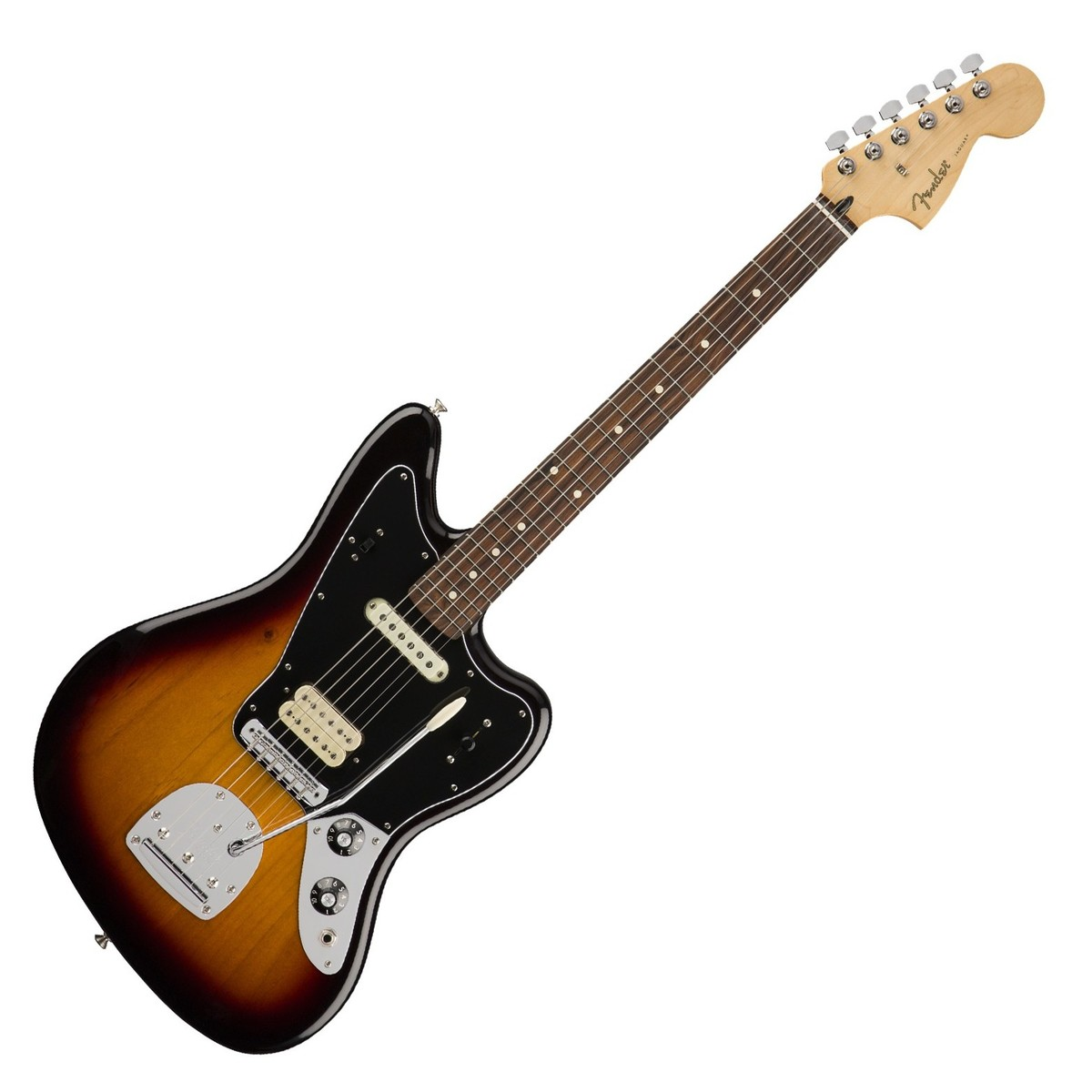 Fender Player Jaguar PF, 3 Color Sunburst