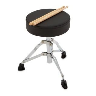 Infant 3 Piece Drum Kit by Gear4music, Blue