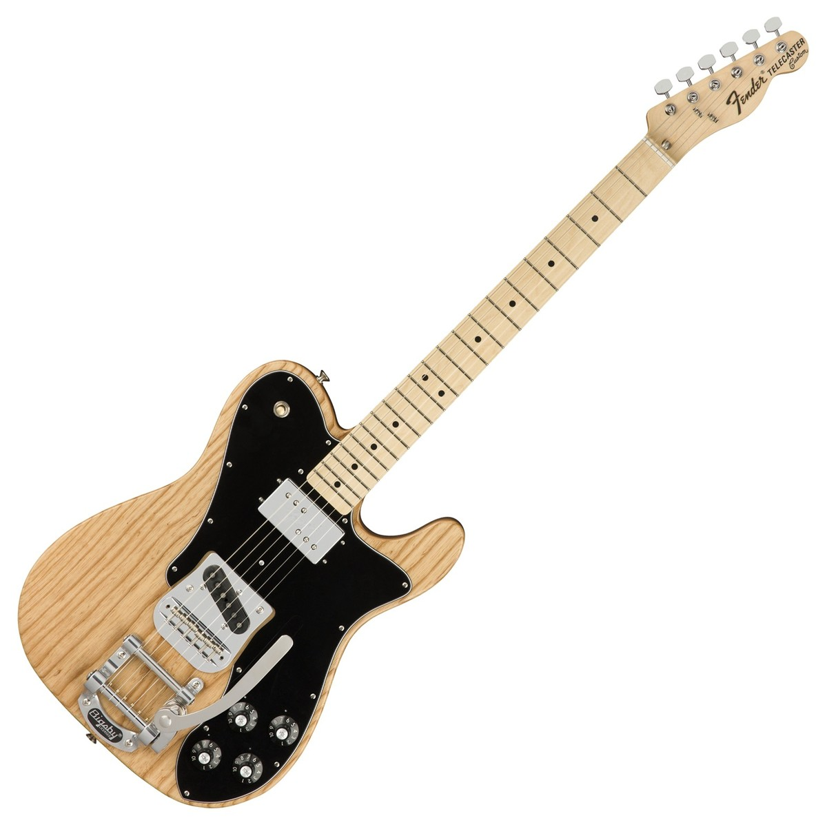 Fender 72 Tele Custom Ltd W Bigsby Natural At Gear4music