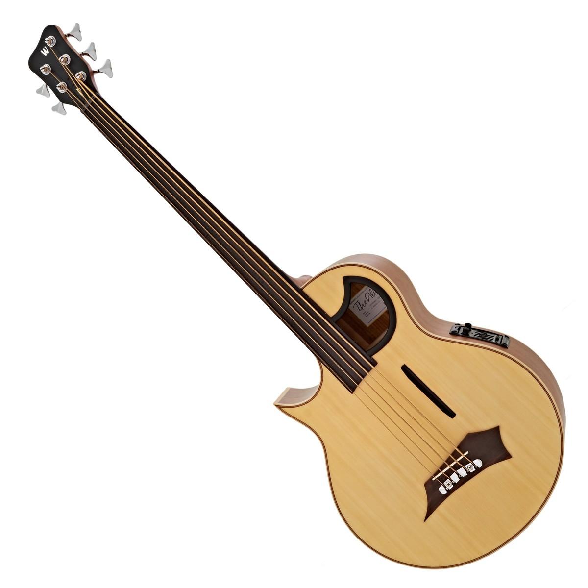 warwick alien fretless 5 string bass left handed natural satin at gear4music. Black Bedroom Furniture Sets. Home Design Ideas
