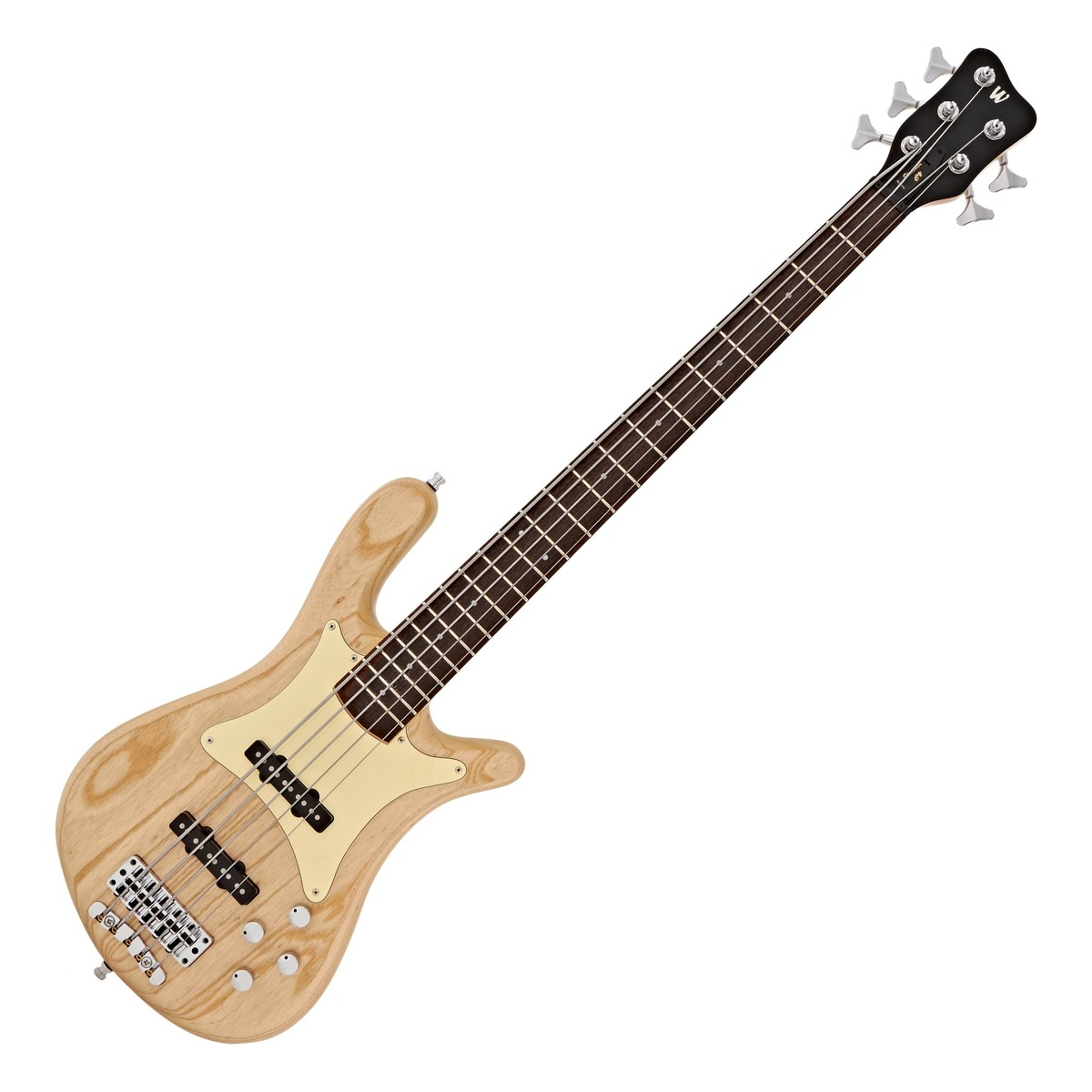 warwick gps streamer cv passive 5 string bass 2015  natural satin at gear4music