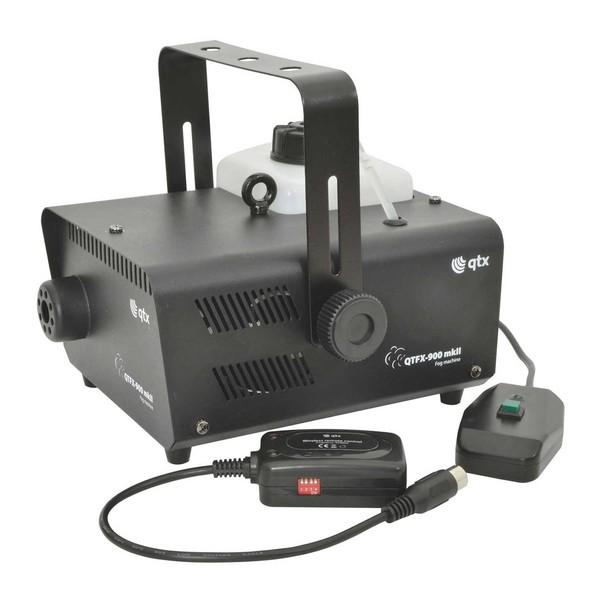 QTX QTFX-900 MKII 900W Fog Machine, Front Angled Full