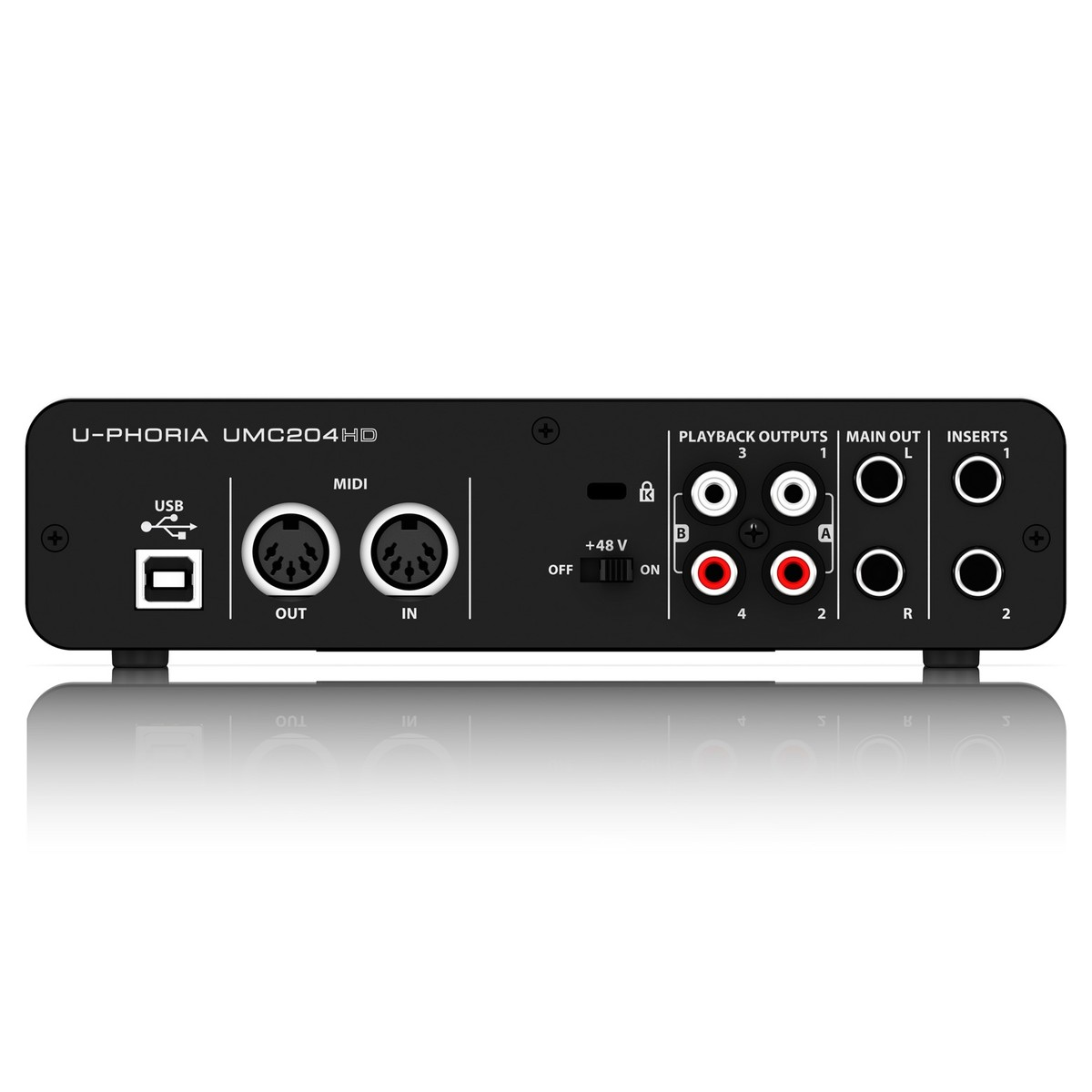 behringer u phoria umc204hd usb audio interface box opened at gear4music. Black Bedroom Furniture Sets. Home Design Ideas