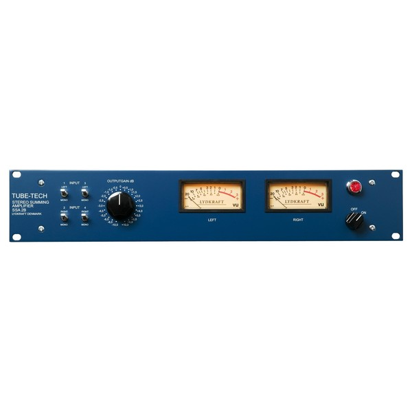 Tube-Tech SSA 2B Stereo Summing Amplifier - Front