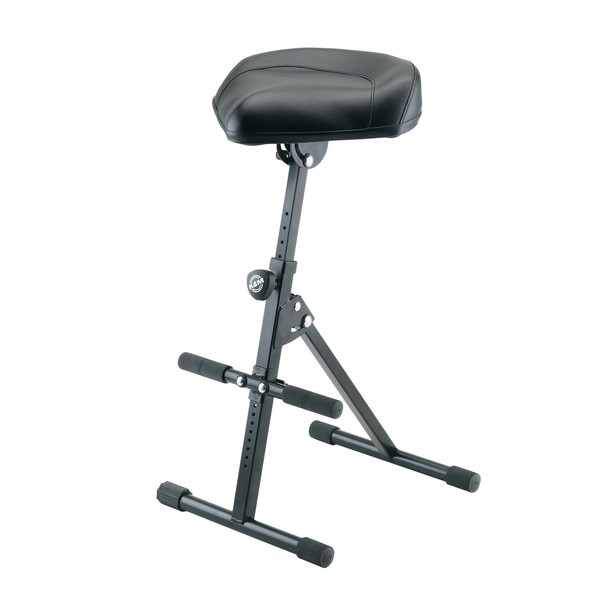 K&M 14047 Pneumatic Stool, Black
