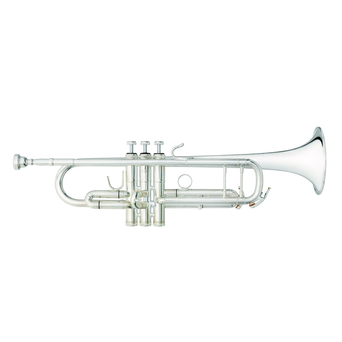 b u0026s challenger 2 trumpet  37 sterling silver bell and leadpipe at gear4music