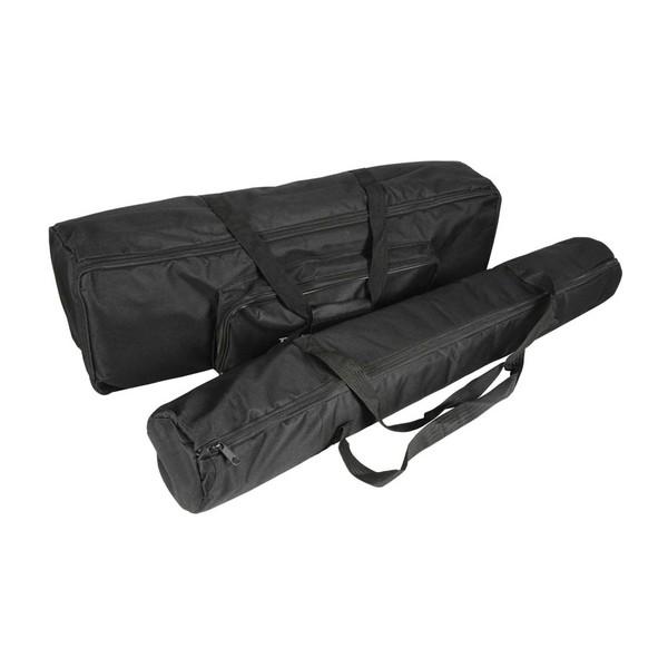 QTX Carry Bag Set For PAR Bar & Stand, Angled Right