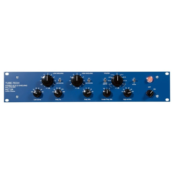 Tube-Tech HLT 2AM Mastering Hi and Lo Shelving and T-Filter - Front