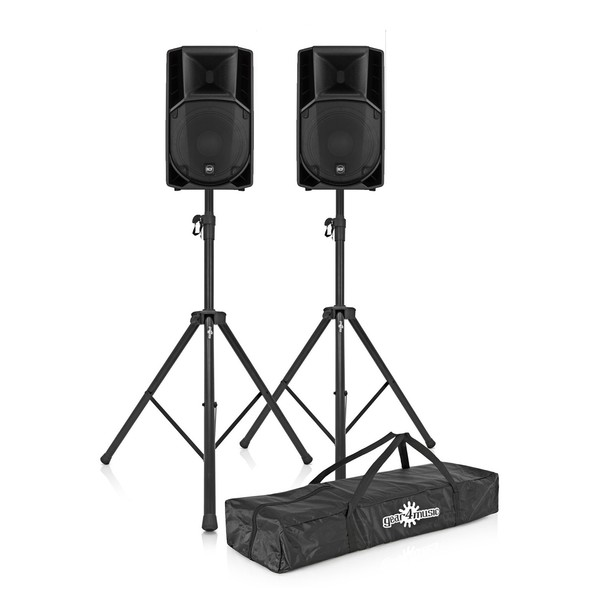RCF ART 732-A MK4 Active Speaker Pair with Free Stands