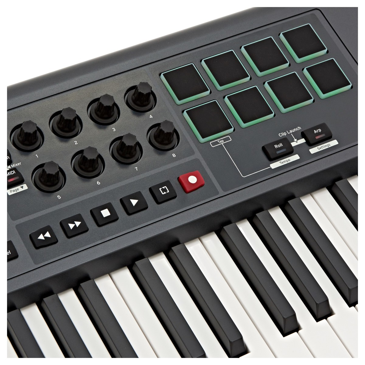 novation impulse 61 key usb midi controller keyboard at gear4music. Black Bedroom Furniture Sets. Home Design Ideas