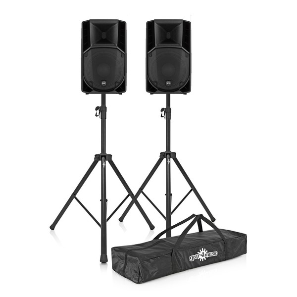 RCF ART 745-A MK4 Active Speaker Pair with Free Stands