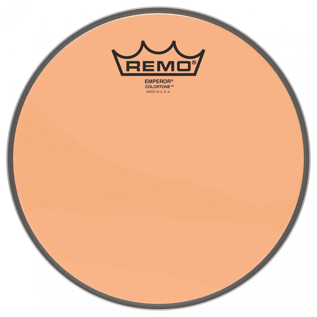 Remo Emperor Colortone Orange 15 Drum Head