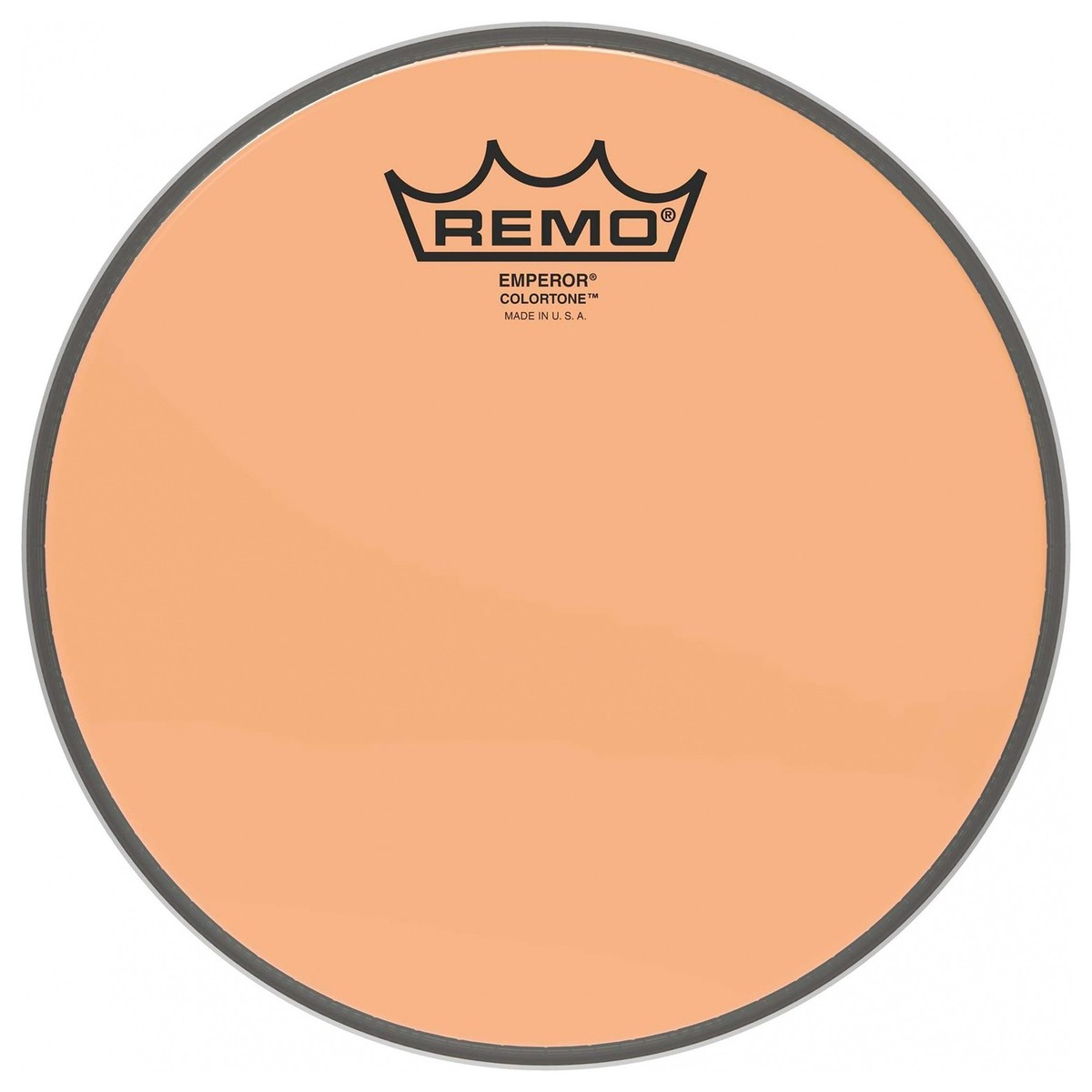 Remo Emperor Colortone Orange 16 Drum Head