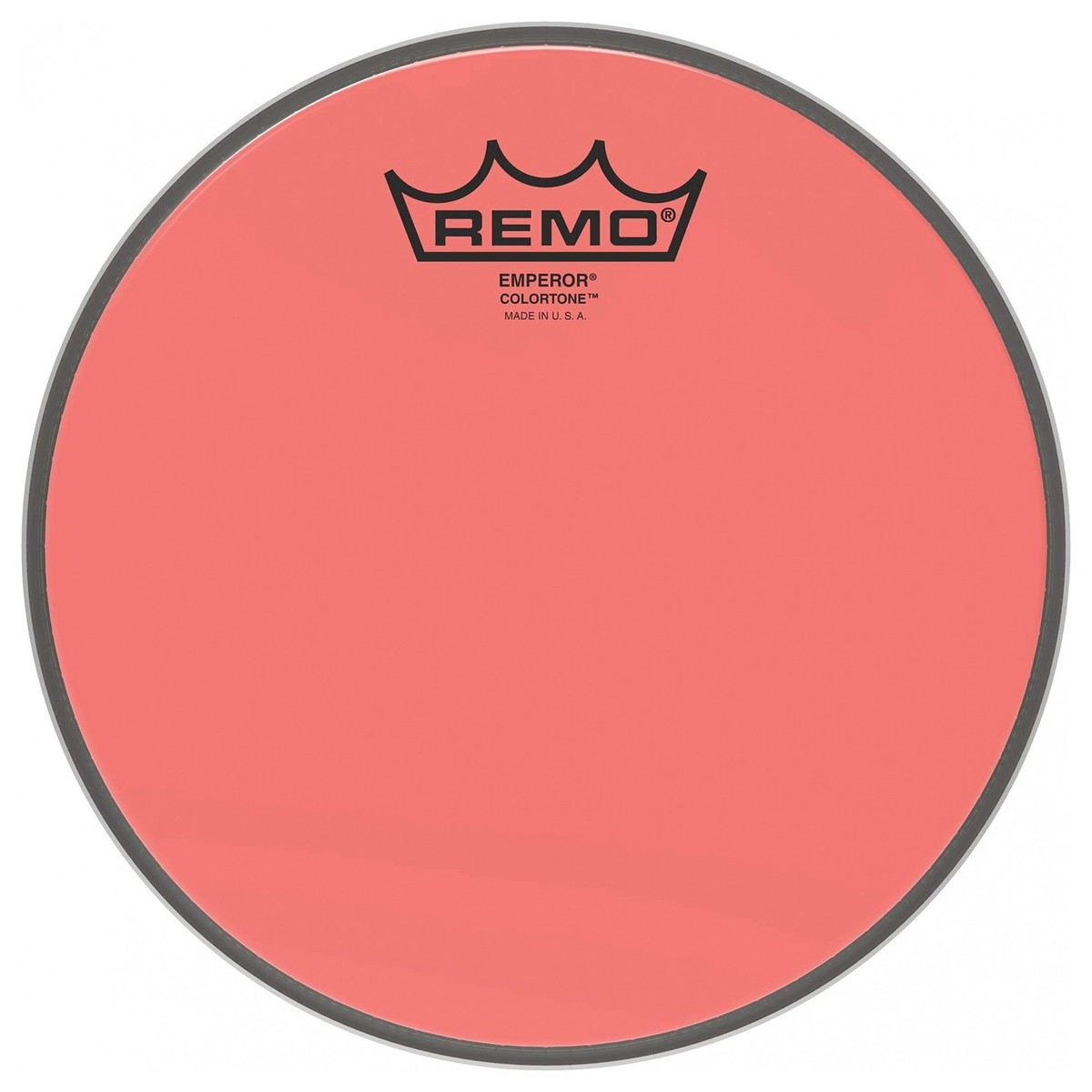 Remo Emperor Colortone Red 15 Drum Head