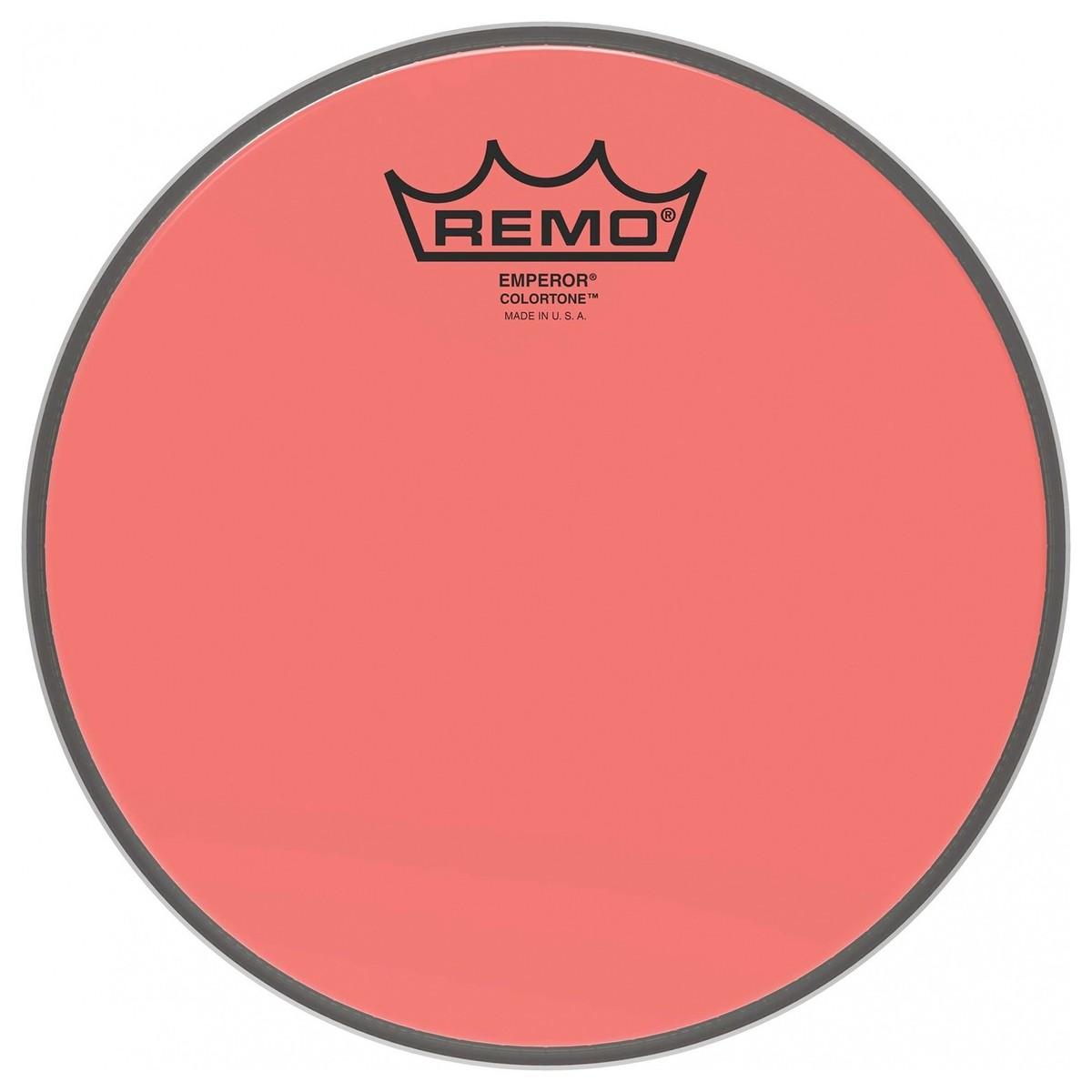 Remo Emperor Colortone 18 Red Drum Head