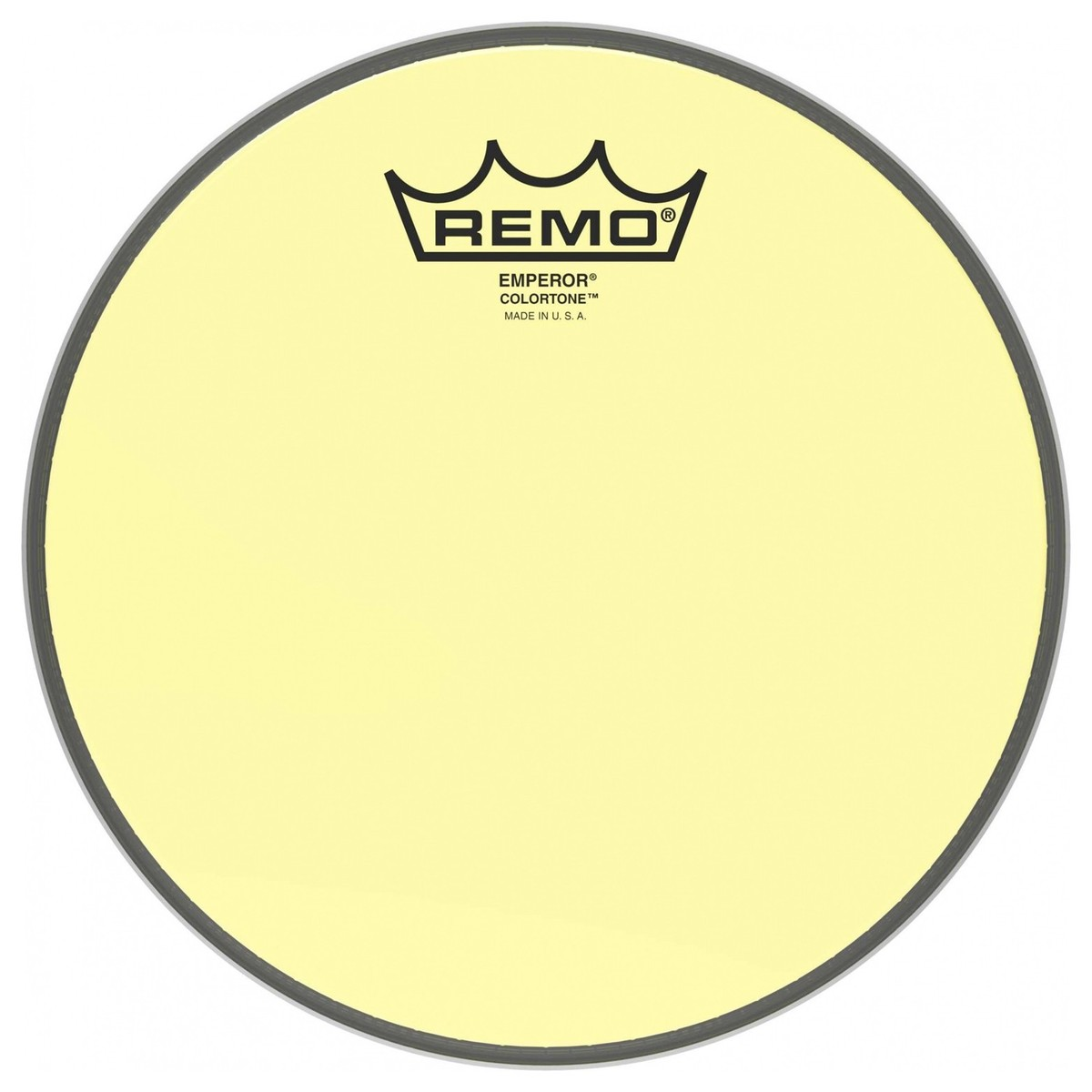 remo emperor colortone 16 39 39 yellow drum head at gear4music. Black Bedroom Furniture Sets. Home Design Ideas