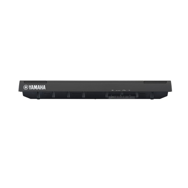Yamaha P125 Digital Piano, Black, Side