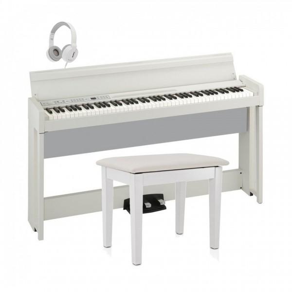 Korg C1 Air Digital Piano Package, White