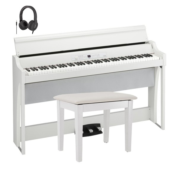 Korg G1 Air Digital Piano Package, White