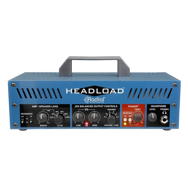 Radial Tonebone Headload V8 Guitar Amp Load Box, Front