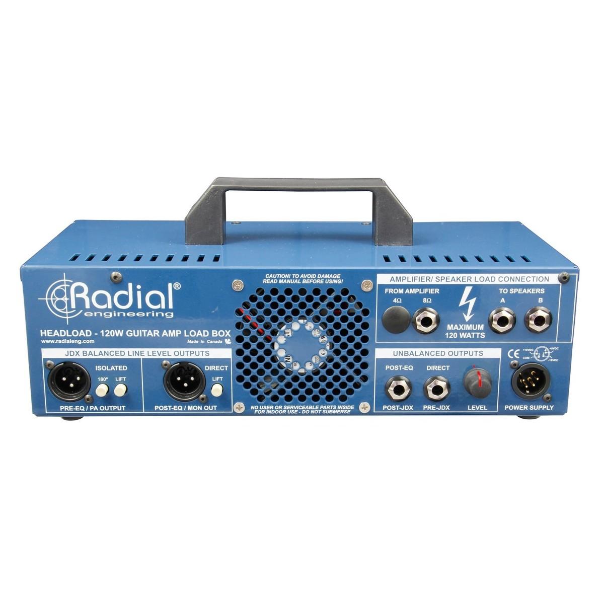 radial tonebone headload v8 guitar amp load box at gear4music. Black Bedroom Furniture Sets. Home Design Ideas