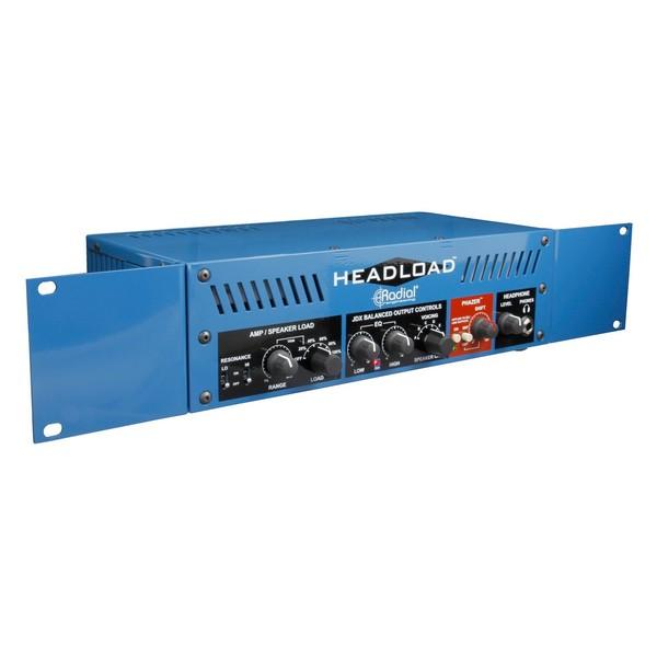 Radial Tonebone Headload V8 Guitar Amp Load Box, Rack Ears