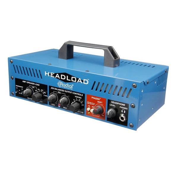 Radial Tonebone Headload V8 Guitar Amp Load Box, Front Angled Left