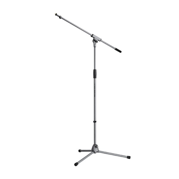 K&M 21060 Soft-Touch Microphone Stand, Grey