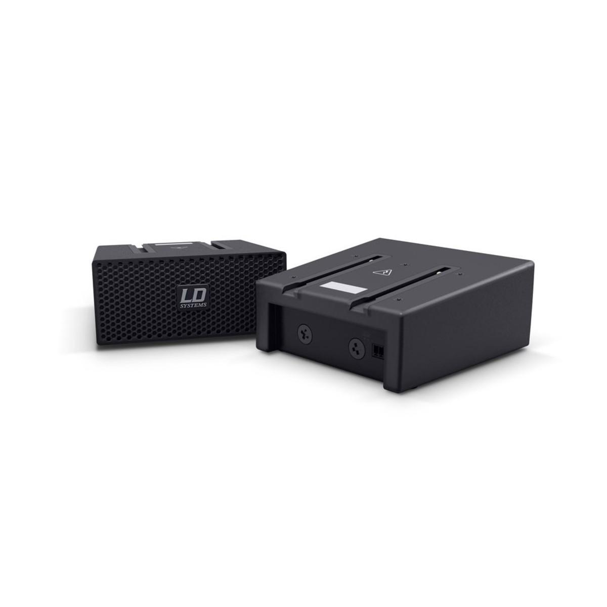 LD Systems CURV500 SLAT Variable Voltage Smartlink Adapter Black