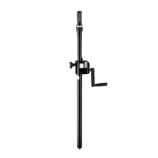 K&M 21340 Distance Rod with Hand Crank & Ring Lock